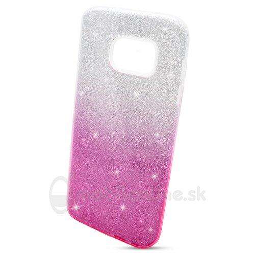 Puzdro 3in1 Shimmer TPU Samsung Galaxy S7 G930 - strieborno-ružové*
