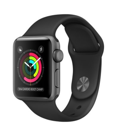 Apple Watch Series 2 42mm Black - Trieda C
