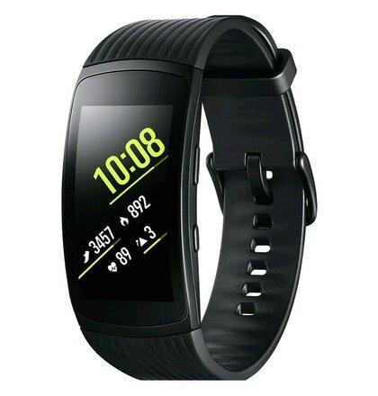 Samsung hodinky Galaxy Gear Fit2 Pro SM-R365NZK, Čierna
