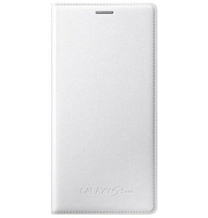 EF-FG800BW Samsung Folio Pouzdro Metallic White pro G800 Galaxy S5 mini (EU Blister)