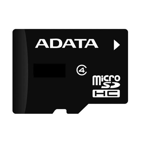 MicroSDHC karta A-DATA 32GB Class 4 + adaptér