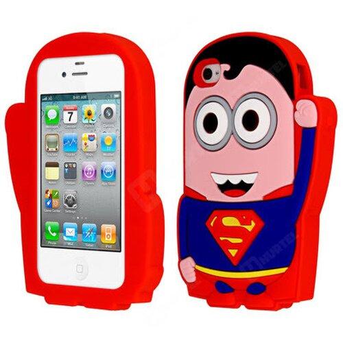 Puzdro 3D TPU iPhone 5/5s/SE Superman