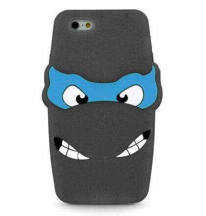 Puzdro iPhone 5/5s/SE 3D TPU Ninja Turtle, čierne