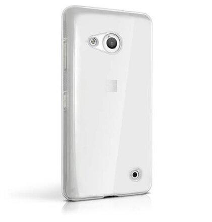 Microsoft Lumia 550 GUMENÉ ULTRA tenké (0,3mm) puzdro, transparentné