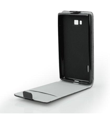 Appe iPhone 4/4S knižkové ForCell Slim Flip Flexi puzdro, čierne