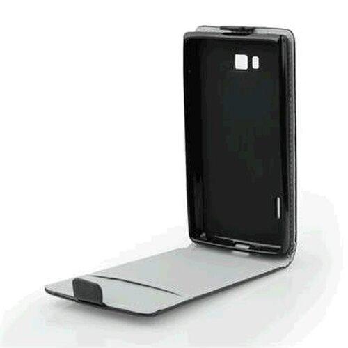 Lenovo S660 knižkové ForCell Slim Flip Flexi puzdro, čierne