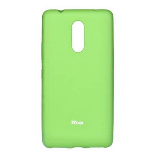 Puzdro Roar Jelly Colorful TPU Lenovo K6 Note - limetkové