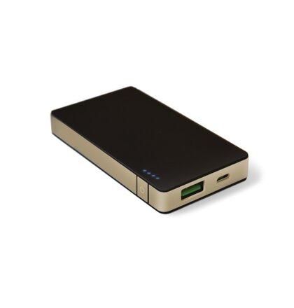 Powerbank CELLY s USB výstupom, 4000mAh, 1.5 A, zlatá