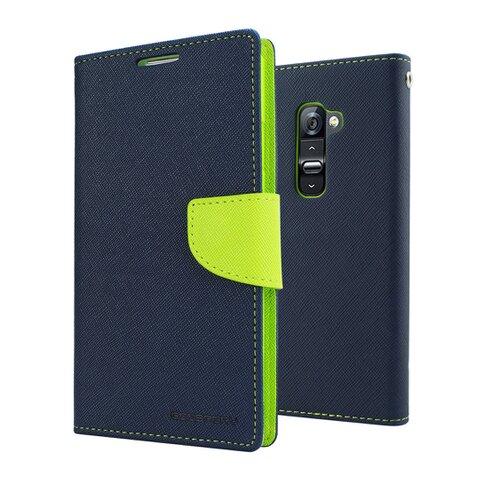 Mercury Fancy Diary Pouzdro pro Samsung A520 Galaxy A5 2017 Navy/Lime