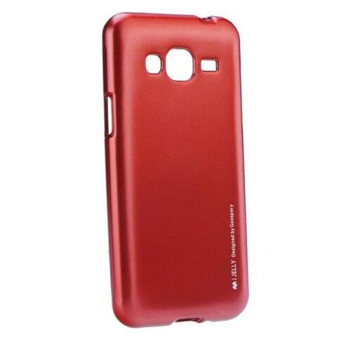 Puzdro Mercury i-Jelly TPU Samsung Galaxy J3 J320 2016 - červené