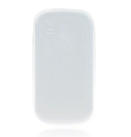 GUMENÉ ULTRA tenké (0,3mm) puzdro určené na Samsung S3 Mini (i8190/i8195i/i8200VE) transparentné