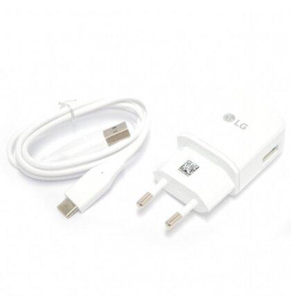 MCS-H05ED+ EAD63849204 LG USB Type C Cestovní Dobíječ White (Bulk)
