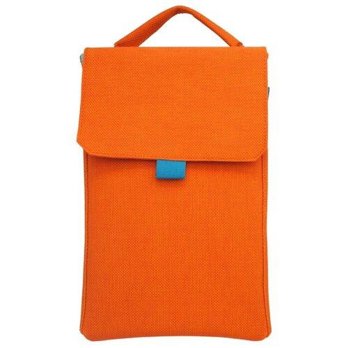 Puzdro na tablet Ton s magnetickým zapínaním, 8 palcov oranžové