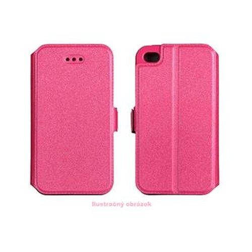 Puzdro Huawei P8 Lite Book pocket bočná knižka, ružová
