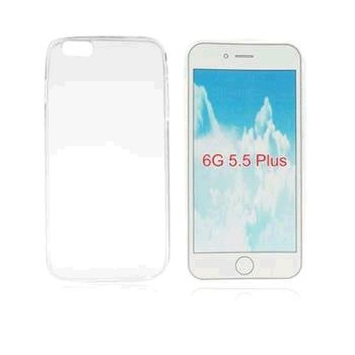 Gumené puzdro na iPhone 6 PLUS, transparentné