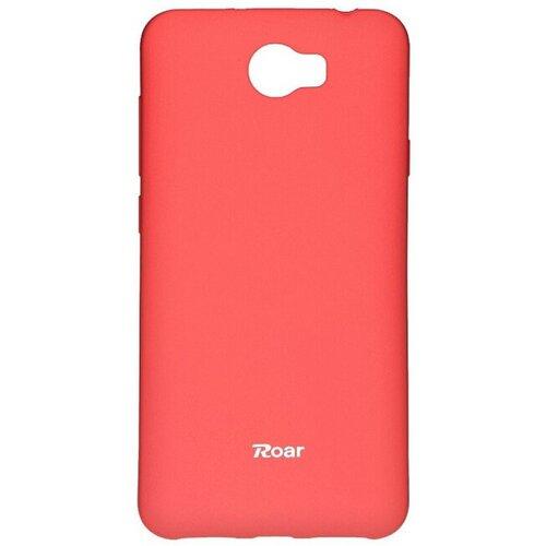 Puzdro Jelly Roar Colorful TPU Huawei Y5 II/Y6 II Compact, broskyňové