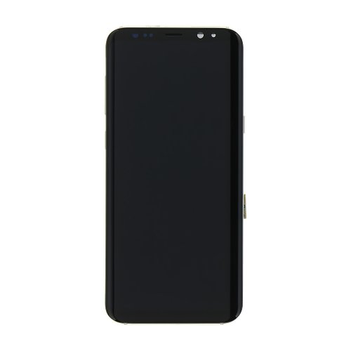 Samsung G955 Galaxy S8 Plus - LCD Displej + Dotyková Plocha - Zlatý (Service Pack)