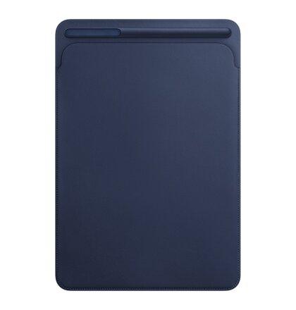 iPad Pro 10,5'' Leather Sleeve - Midnight Blue