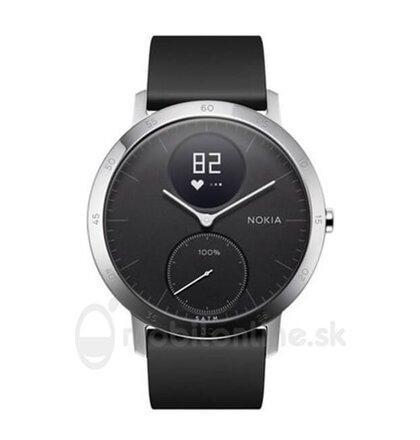 Nokia Steel HR 40mm, Čierne