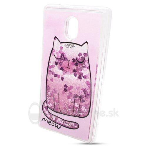 Puzdro Shimmer Design TPU Nokia 3 - mačka