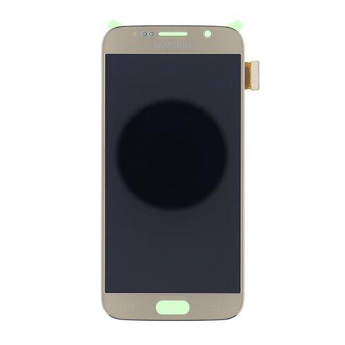 Samsung G920 Galaxy S6 - LCD Displej + Dotyková Plocha - Zlatý