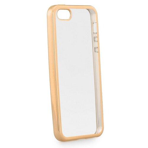 Puzdro Soft Electro TPU iPhone 5/5s/SE - zlaté
