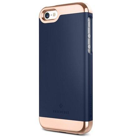 Puzdro CASEOLOGY iPhone 5/5s/SE Case Savoy modré