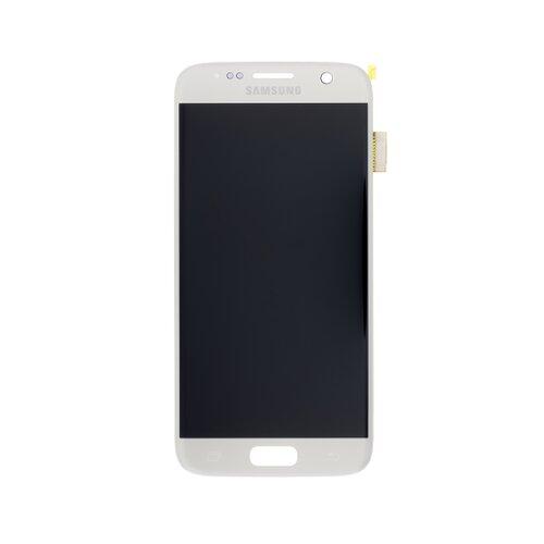 Samsung G930F Galaxy S7 - LCD Displej + Dotyková Plocha - Strieborný