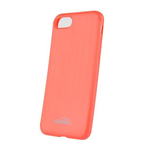 Puzdro Kisswill TPU Brushed iPhone 6/6S - červené