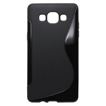 Puzdro S-Line TPU Samsung Galaxy A5 A500 - čierne