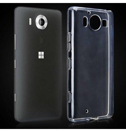Puzdro Microsoft Lumia 950 TPU Ultratenké 0,3mm transparentné