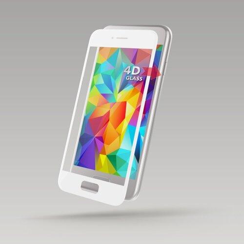 Ochranné sklo Sturdo 4D 9H Huawei P10 celotvárové - biele