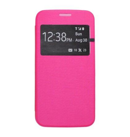 Puzdro NoName View Book Samsung Galaxy S6 G920 - ružové