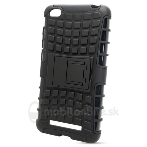 Puzdro Panzer Hard Xiaomi Redmi 4A - čierne