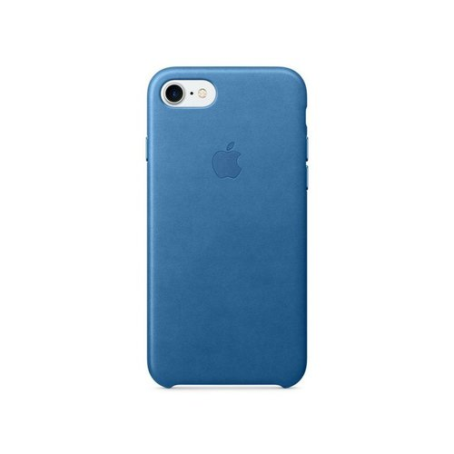 MMY42ZM/A Apple Leather Cover Sea Blue pro iPhone 7/8 (EU Blister)