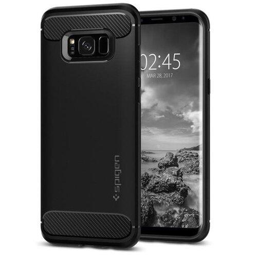 Puzdro Spigen Rugged Armor TPU Samsung Galaxy S8 G950 - čierne