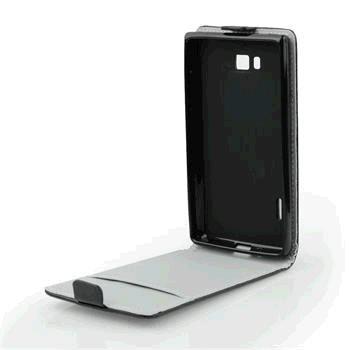 Puzdro Samsung Galaxy A3 A310 knižkové ForCell Slim Flip Flexi, čierne