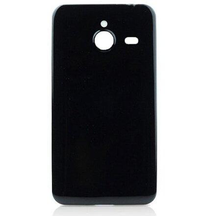 Microsoft Lumia 640XL Jelly Ultra Slim Candy Case 0,3mm silikónové hladké puzdro, čierne