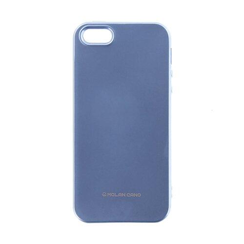 Puzdro Molan Cano Jelly TPU Motorola Moto G5 - nebesky-modrá