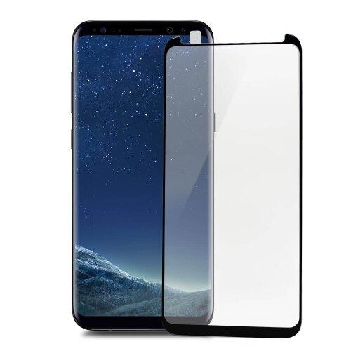 """Ochranné sklo X-ONE 4D Special Samsung Galaxy S8+ G955 celotvárové """"case friendly"""" - čierne"""