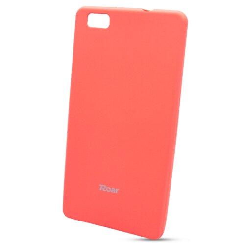 Puzdro Roar Jelly Colorful TPU Huawei P8 Lite - broskyňovo-oranžové