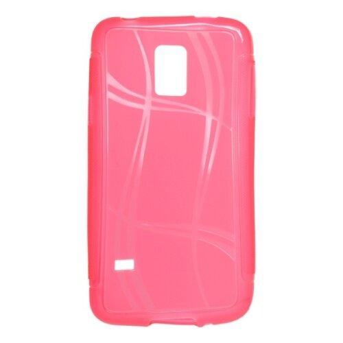 Puzdro Well Lines Samsung Galaxy S5 mini (G800), ružové