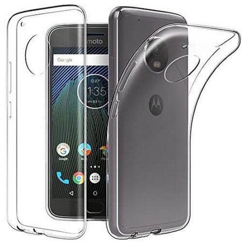 Puzdro NoName Motorola Moto G5 TPU Ultratenké 0,3mm - transparentné