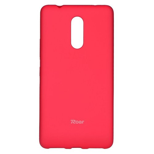 Puzdro Roar Jelly Colorful TPU Lenovo K6 Note - ružové