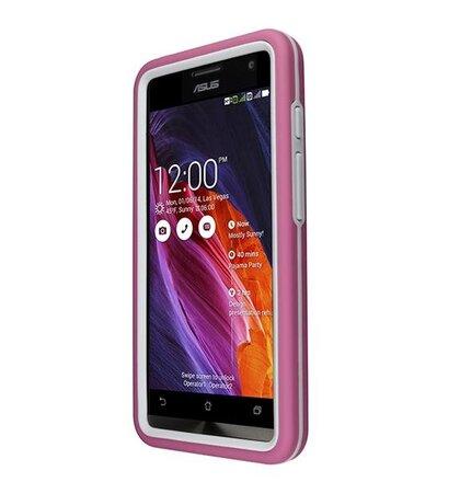 ASUS ochranné púzdro RUGGED CASE pre ZenFone 5 ružové -A500CG, A501CG,  A500KL