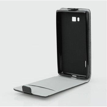 Samsung Galaxy A5 A500 knižkové ForCell Slim Flip Flexi puzdro, čierne