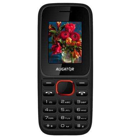 Aligator D200 Dual SIM, Čierno-červený