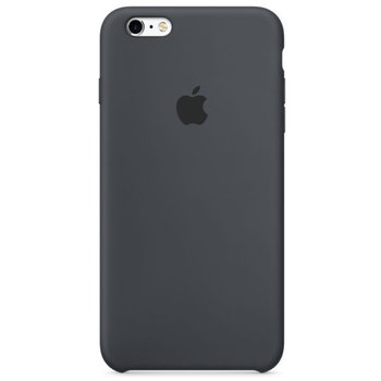 Puzdro MKY02FE/A Apple iPhone 6/6s Silicone Case Charcoal Gray