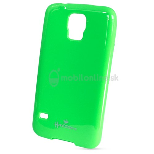 Puzdro Samsung Galaxy S5 G900/S5 Neo G903 Jelly Halssen silikón - zelené