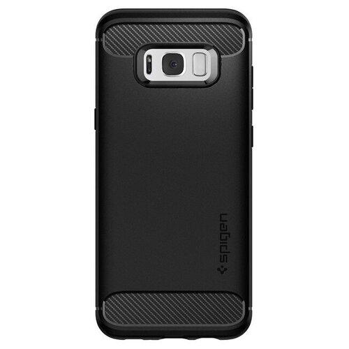 Puzdro Spigen Rugged Armor Samsung Galaxy S8+ G955 - čierne